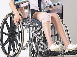 Woman in wheelchair uid 1341897